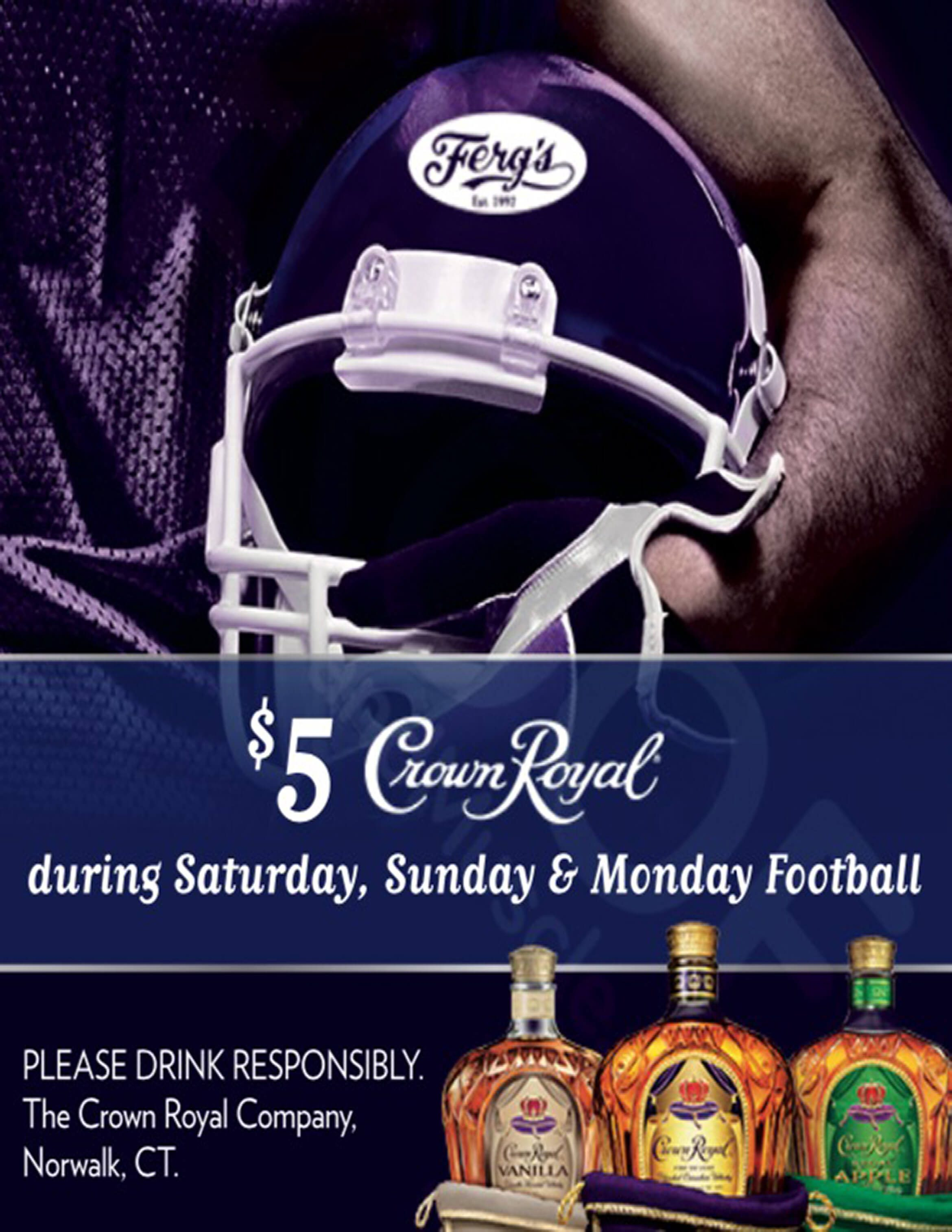 $5 Crown Royal Special