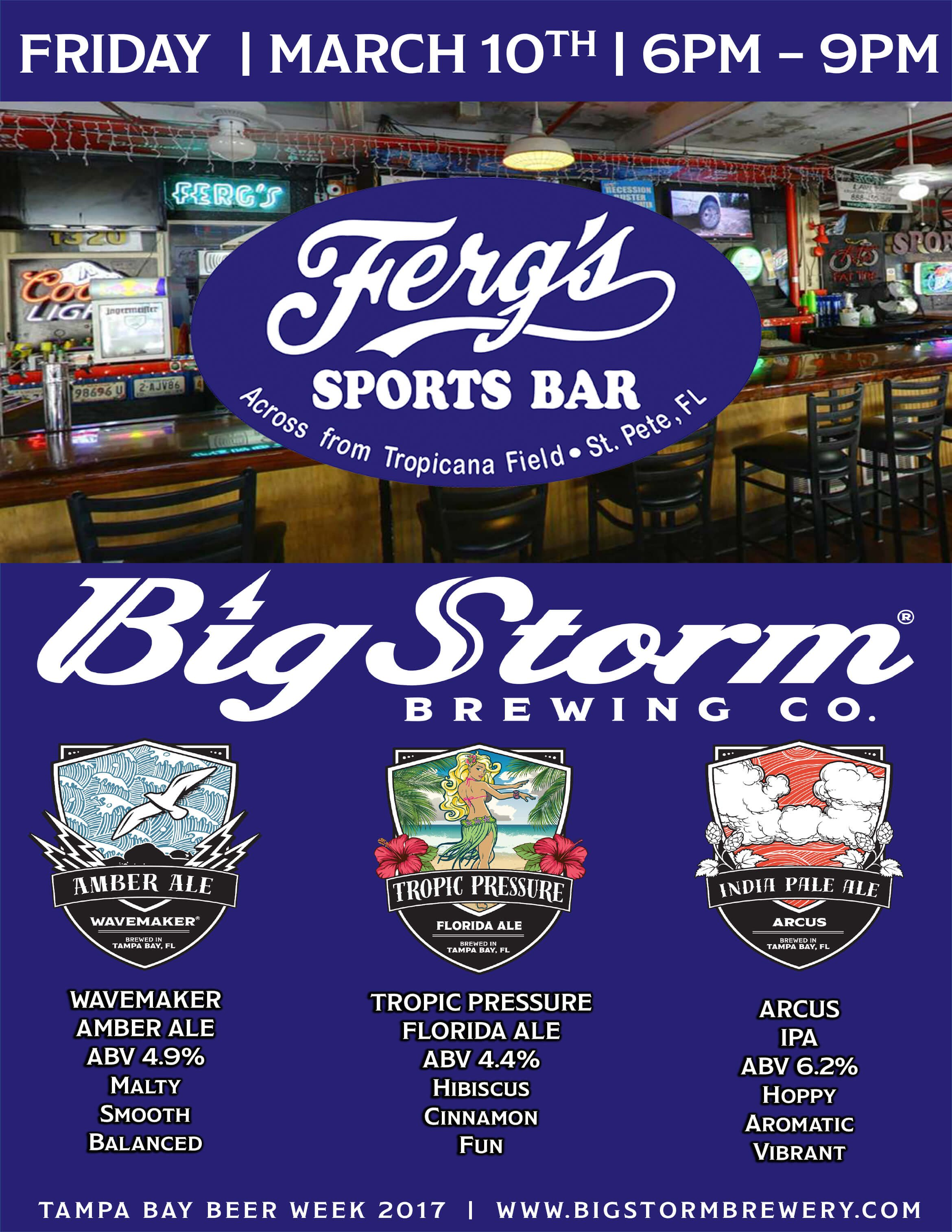 Big Storm Brewing Co. at Ferg's
