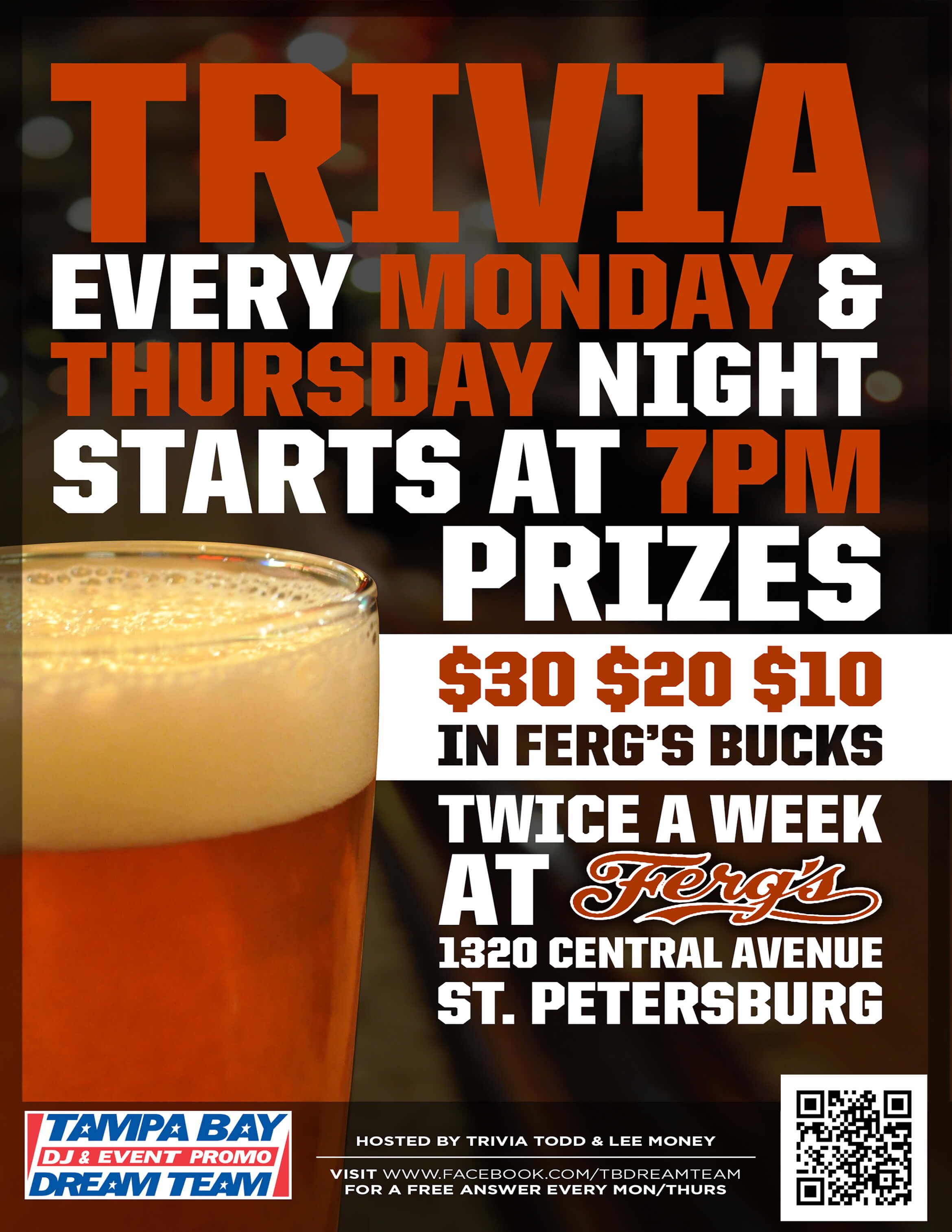 Trivia Nights at Ferg's