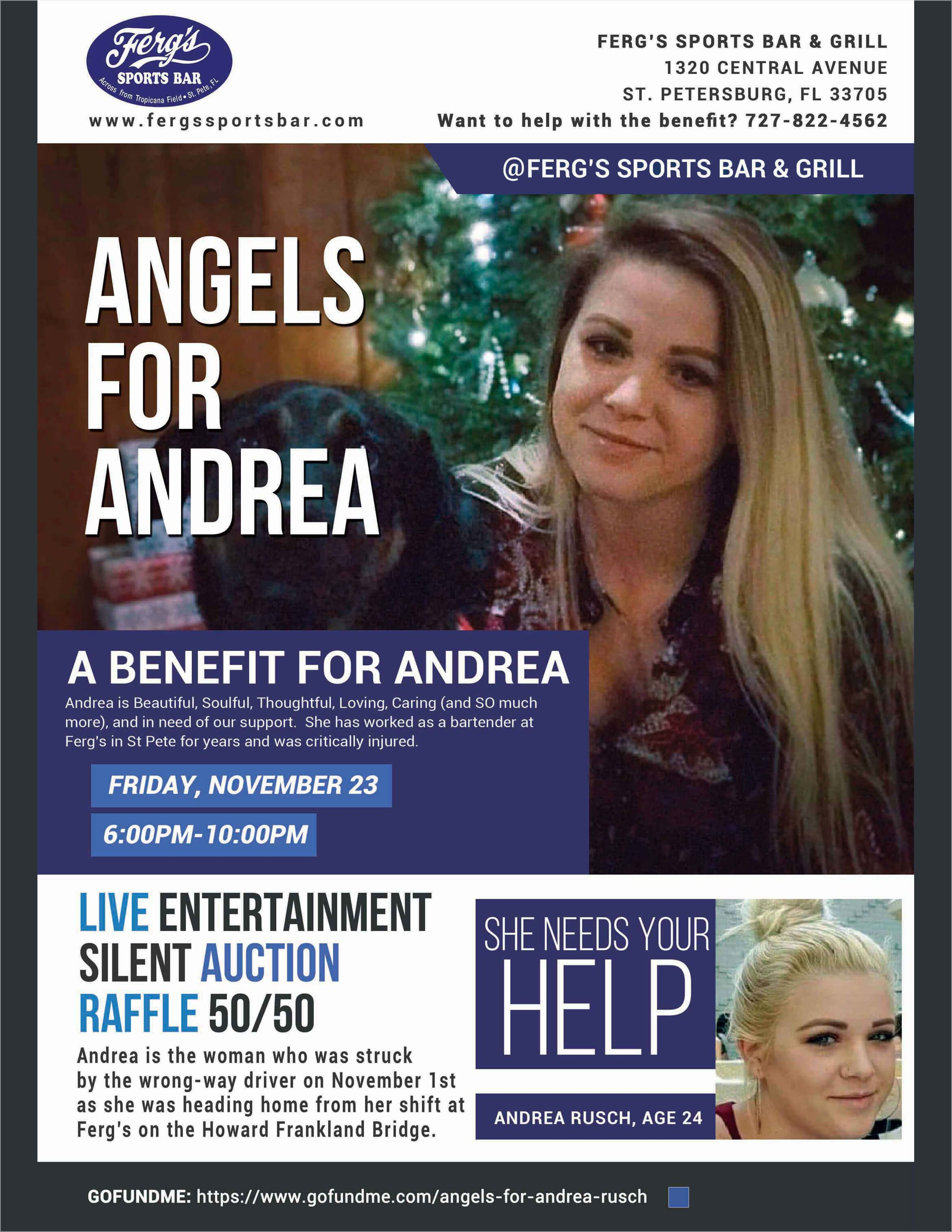 Angels for Andrea Rusch