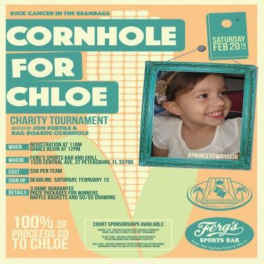 Cornhole For Chloe