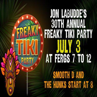 Jon LaBudde's Freaky Tiki Party