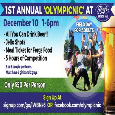 1st Annual 'Olympicnic'