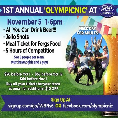 1st Annual 'Olympicnic'