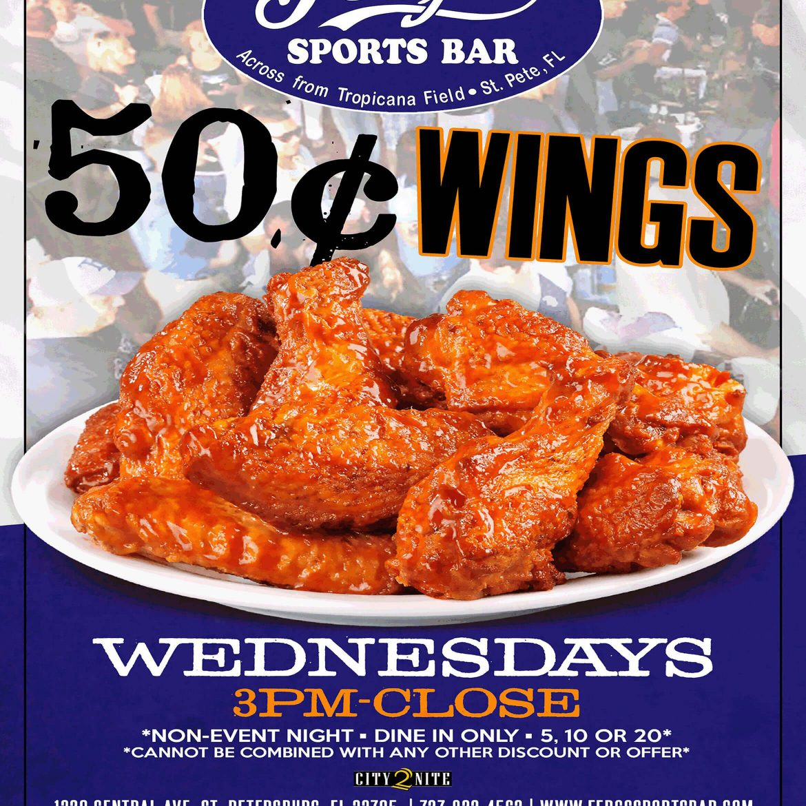 Wednesday 50¢ Wings
