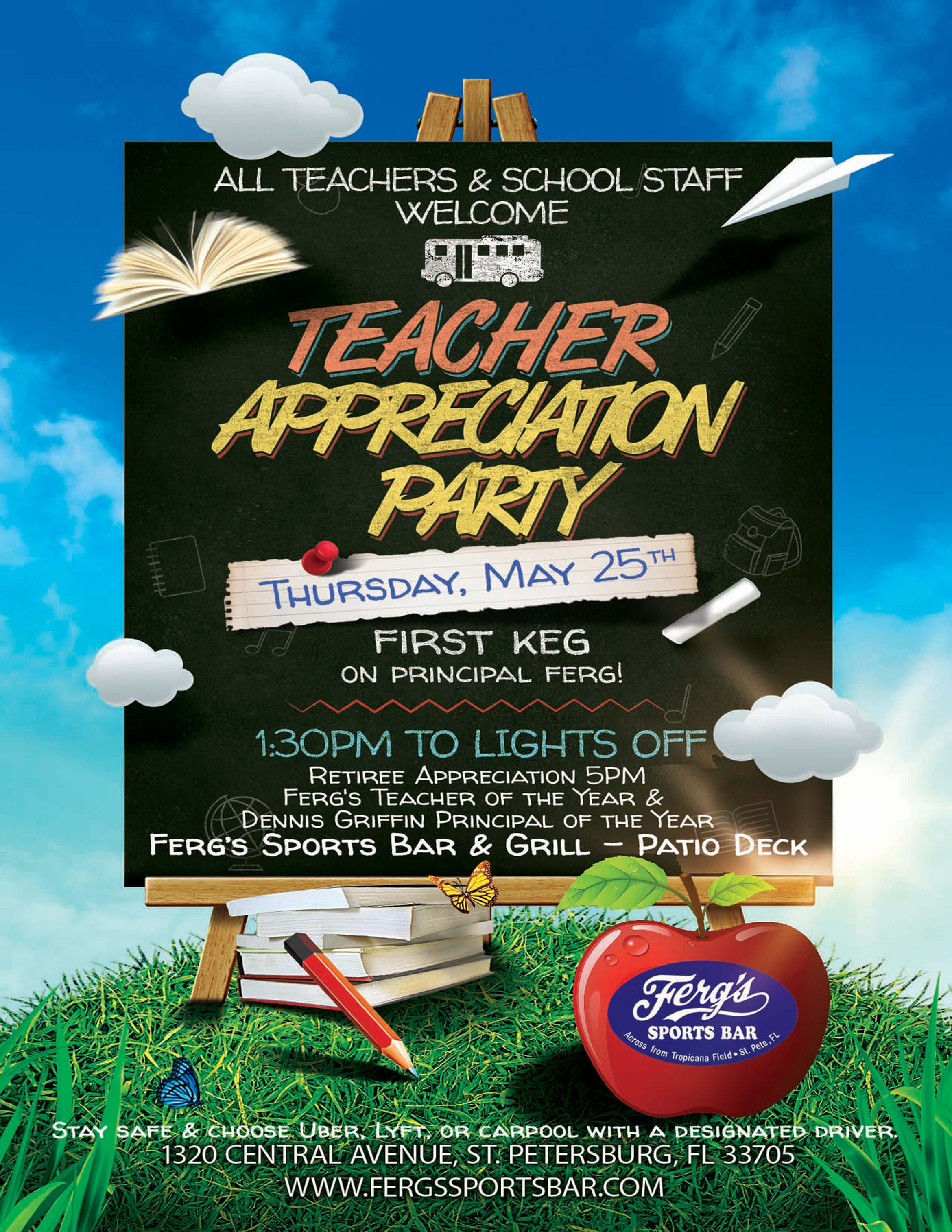 Teacher Appreciation Party