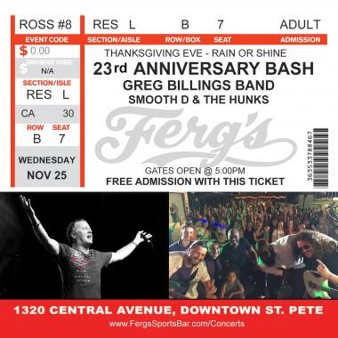 23rd Anniversary Bash