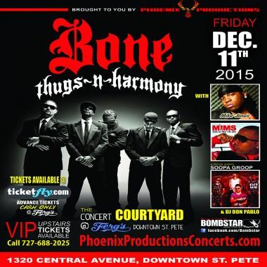 Bone Thugs, Mike Jones, Mims