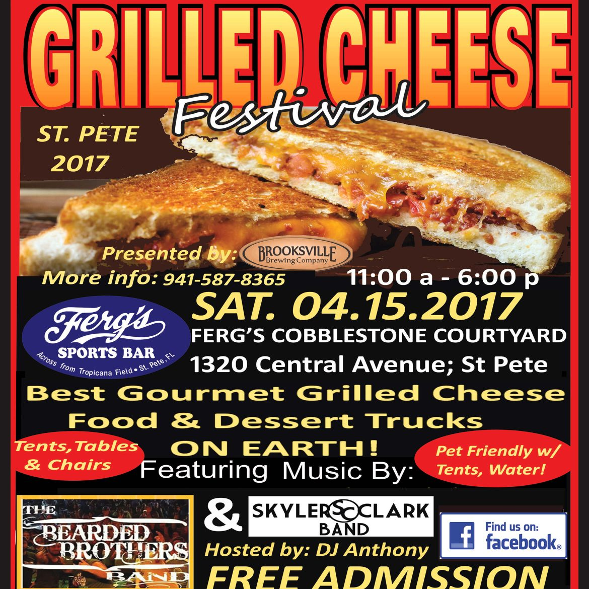 Springtime Grilled Cheese Festival