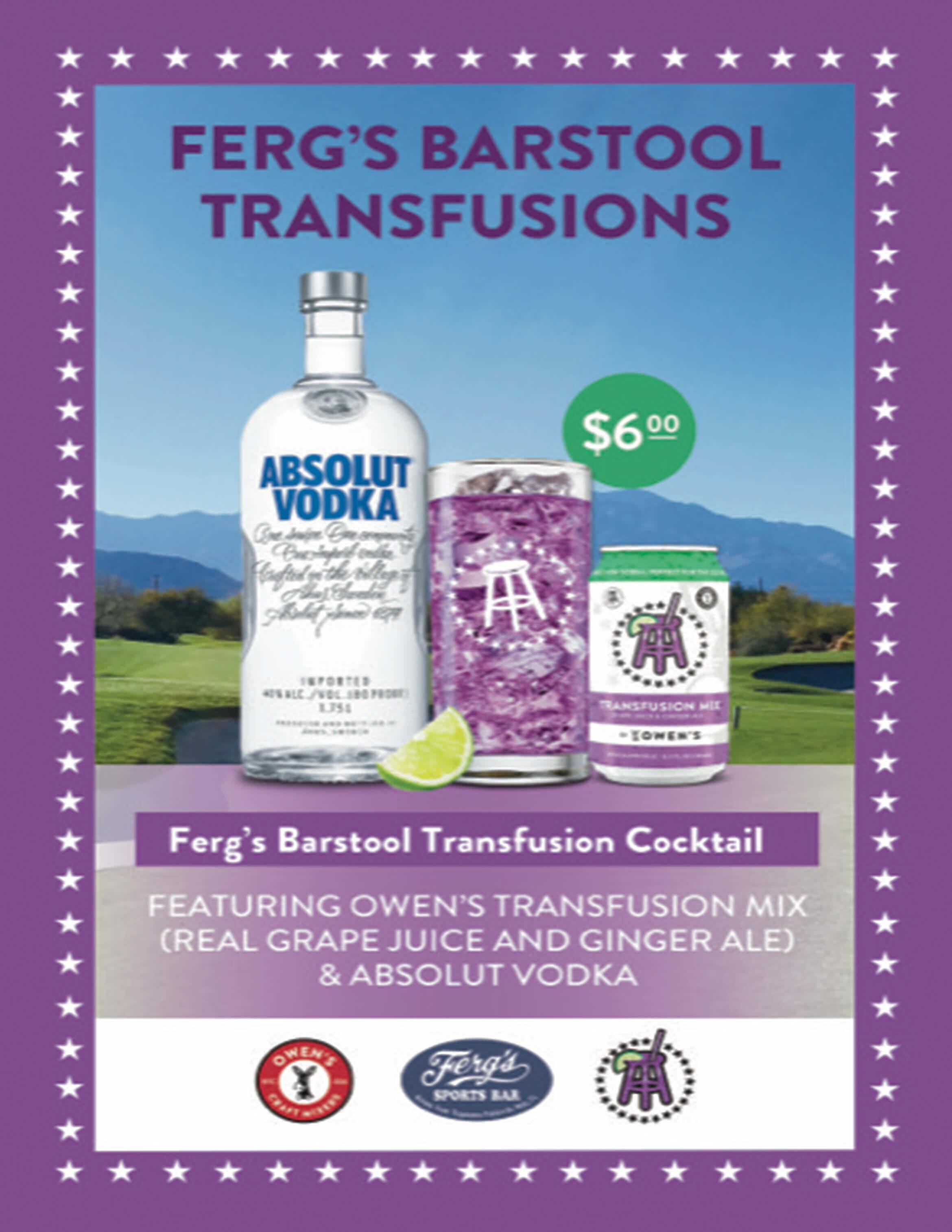 Ferg's Barstool Transfusions