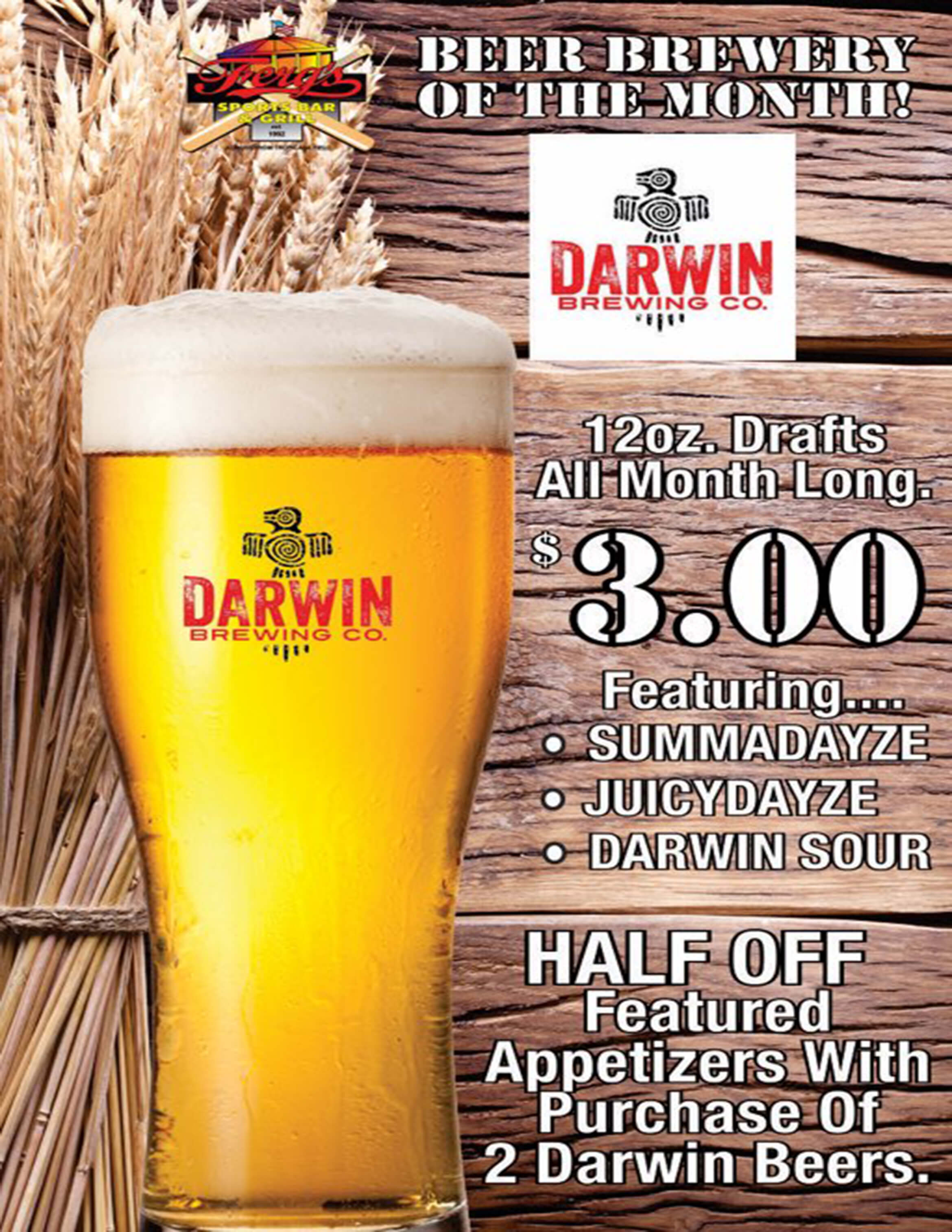 Ferg's Featured Brewery - Darwin Brewing Co.