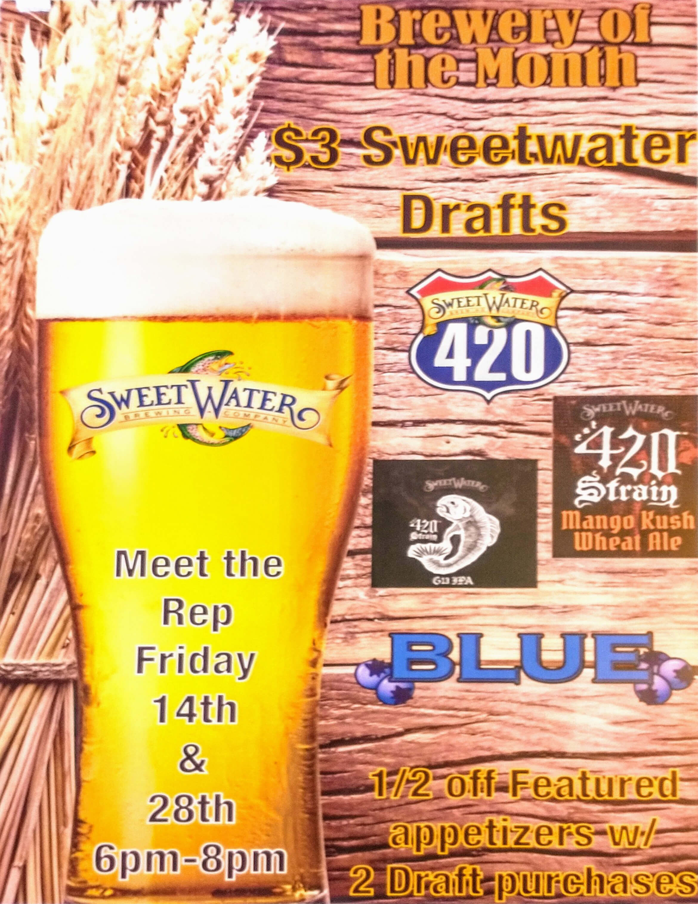 Ferg's Featured Brewery - SweetWater