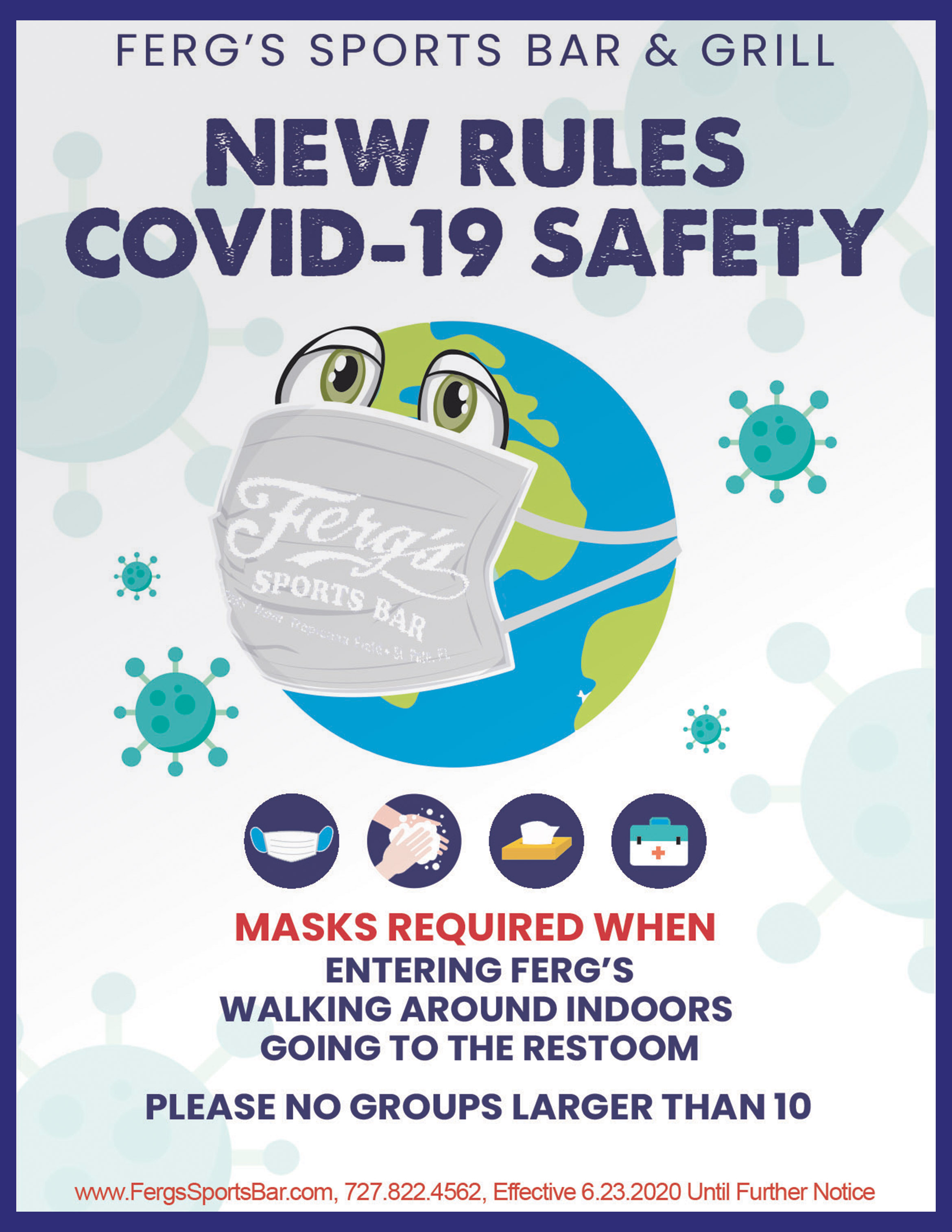 New COVID-19 Safety Rules