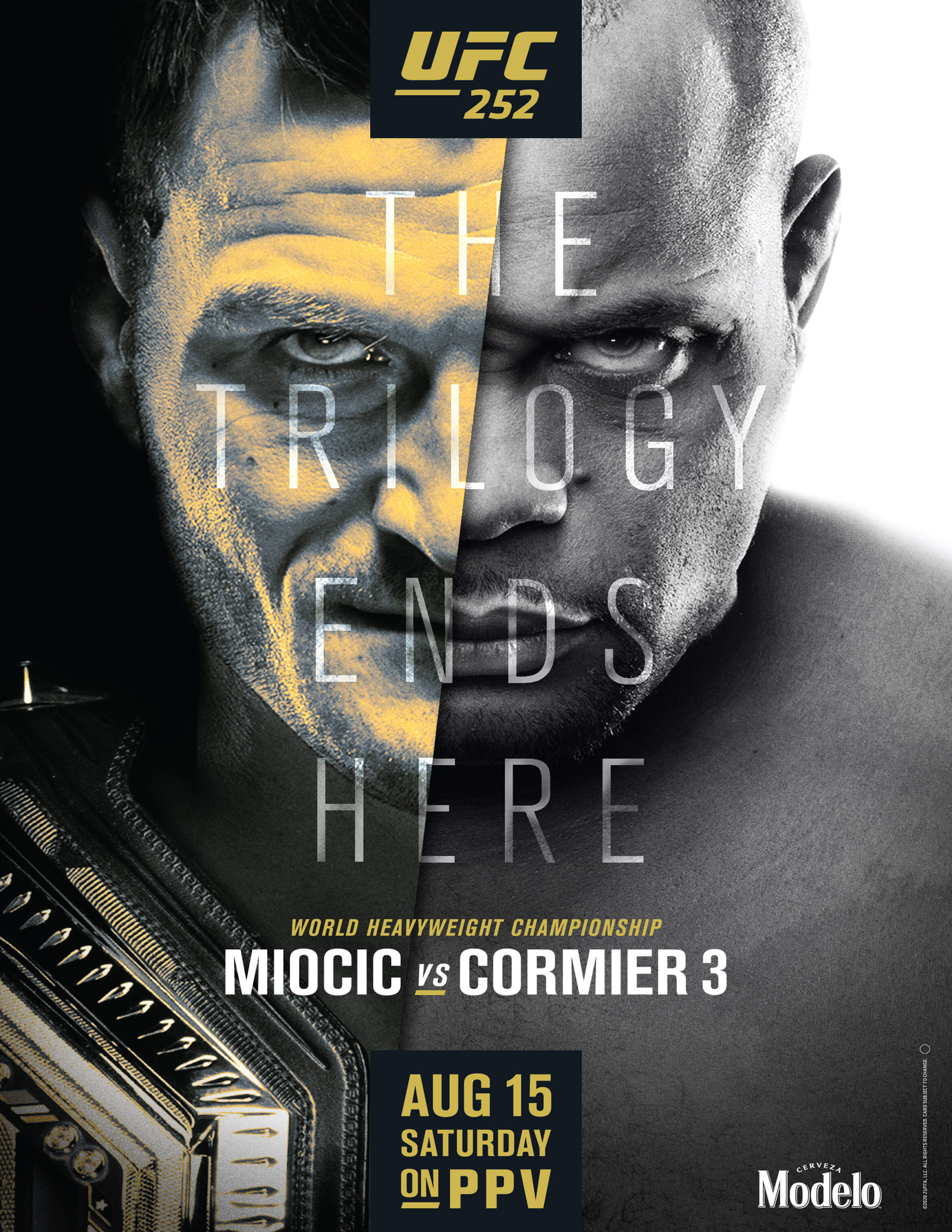 UFC 252 at Ferg's Sports Bar - Miocic vs. Cormier 3