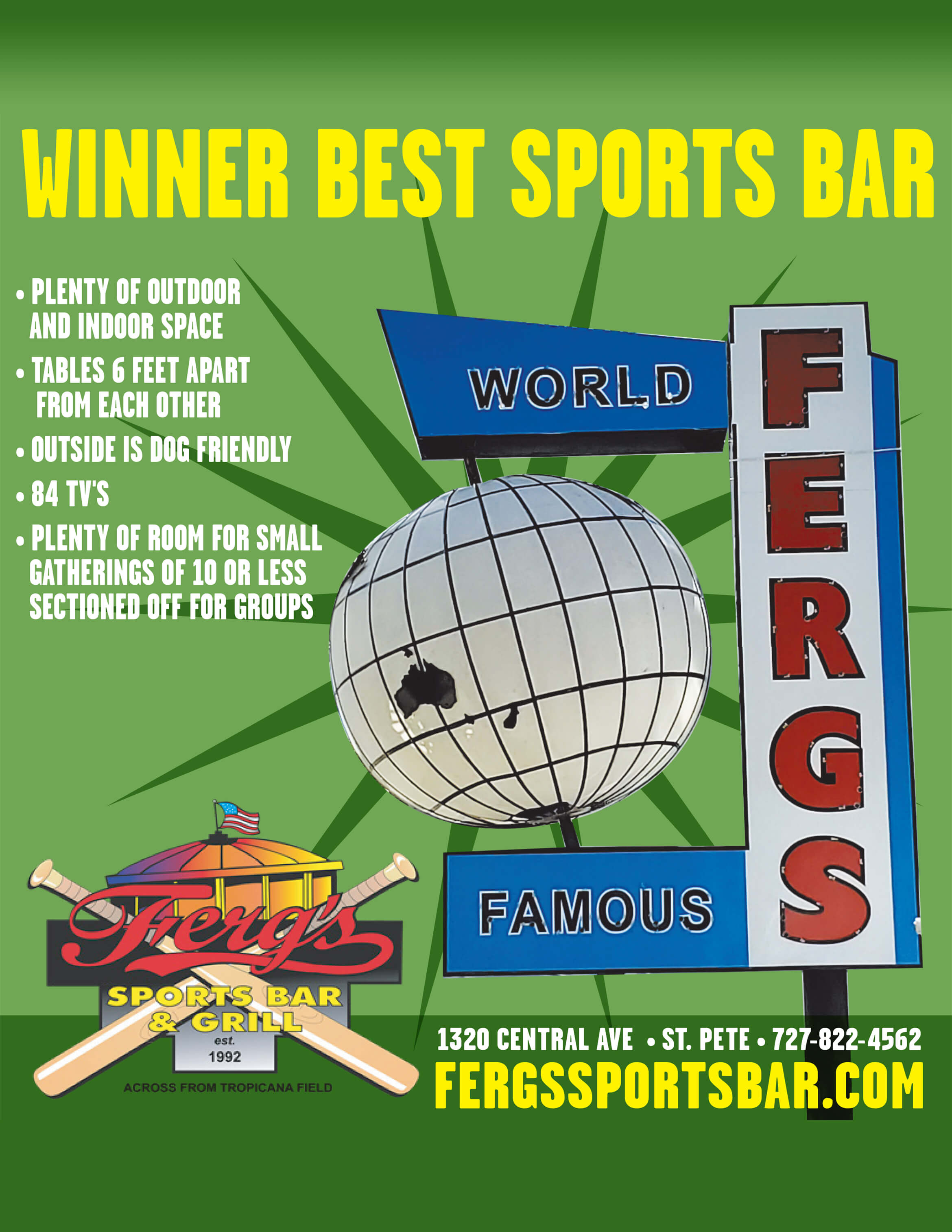Ferg's Winner Best Sports Bar