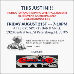 Paul Roberts Retirement Gathering & Celebration of Life