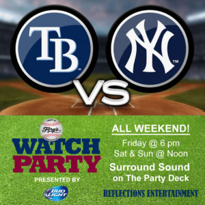Rays vs. Yankees Watch Party @ Ferg's Sports Bar & Grill