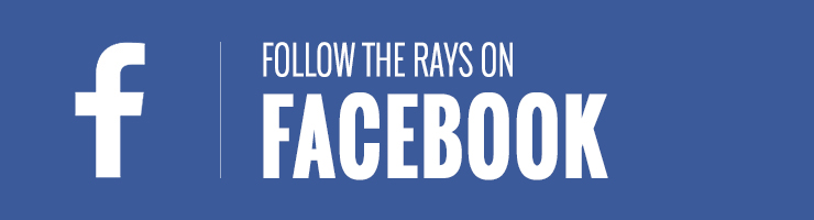 Follow the Rays on Facebook