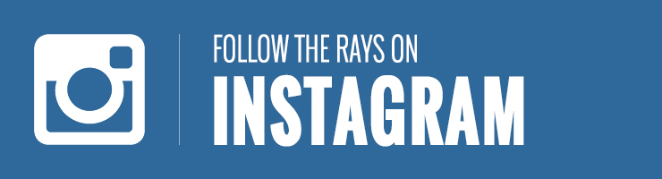 Follow the Rays on Instagram