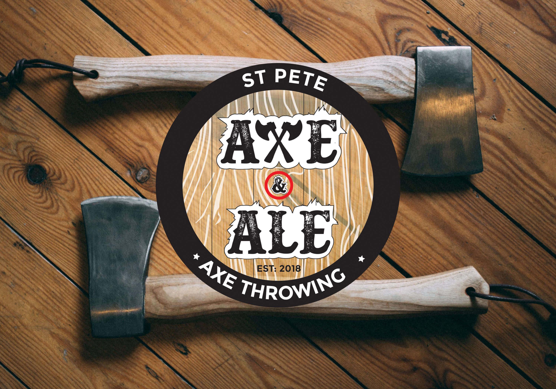 St. Pete Axe & Ale - Axe Throwing