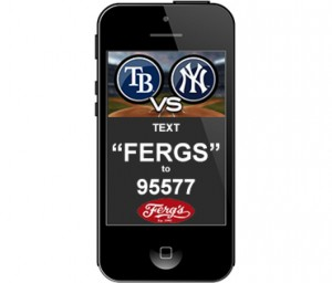 Ferg's Weekly Sports Fantasy Giveaway